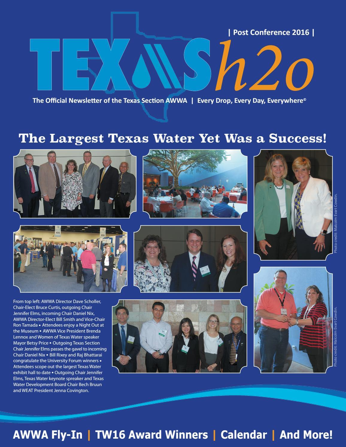h2o postconference2016 by texas awwa issuu