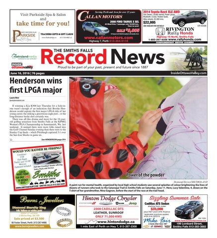 Smithsfalls061616 by Metroland East - Smiths Falls Record News - issuu