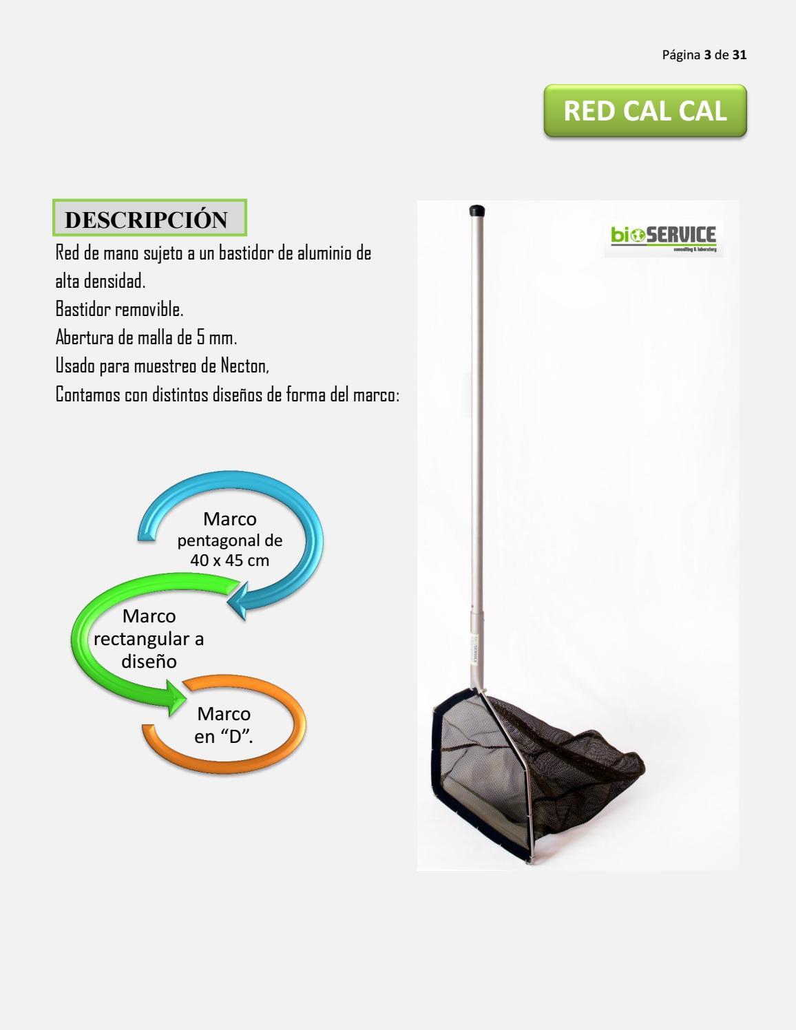 Catalogo 2016 IV BIOSERVICE CLAB by Edson Castillo - issuu