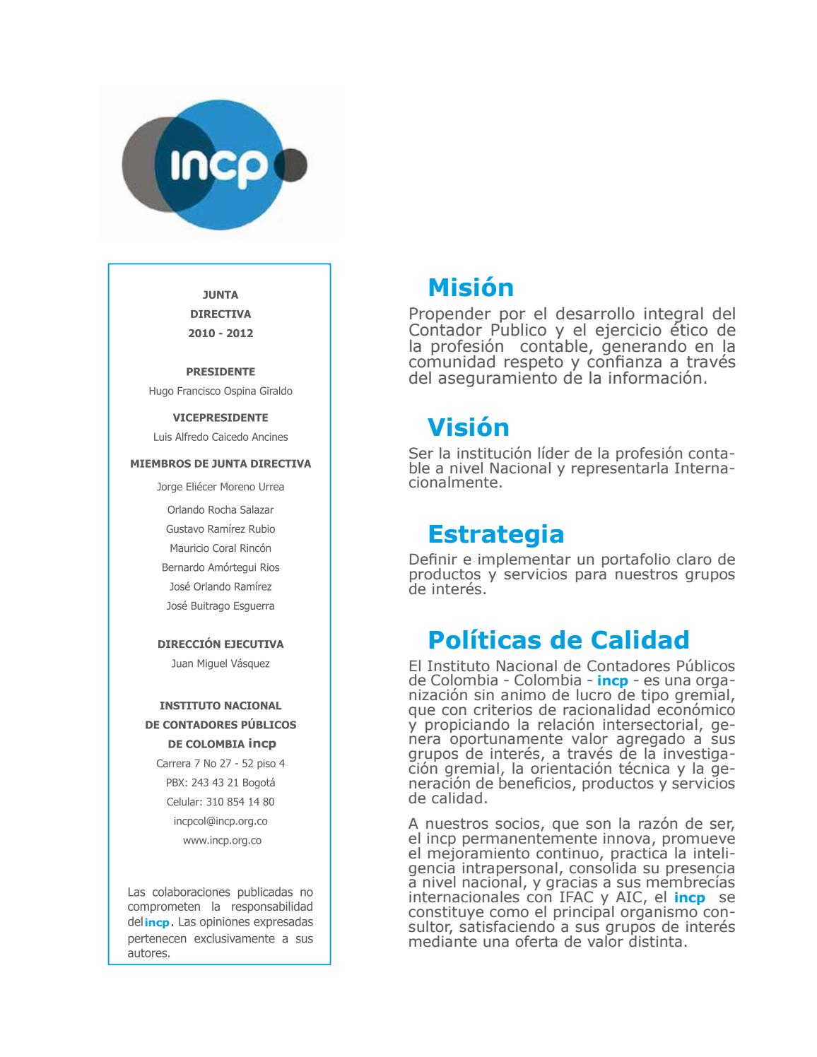 Agenda & Análisis Tributario 2012 by INCP - issuu