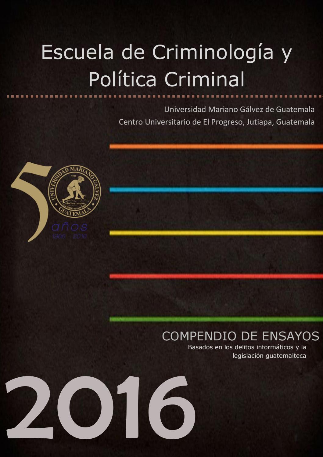 Ensayos sobre Delitos Informáticos by Marcelo Chinchilla - issuu