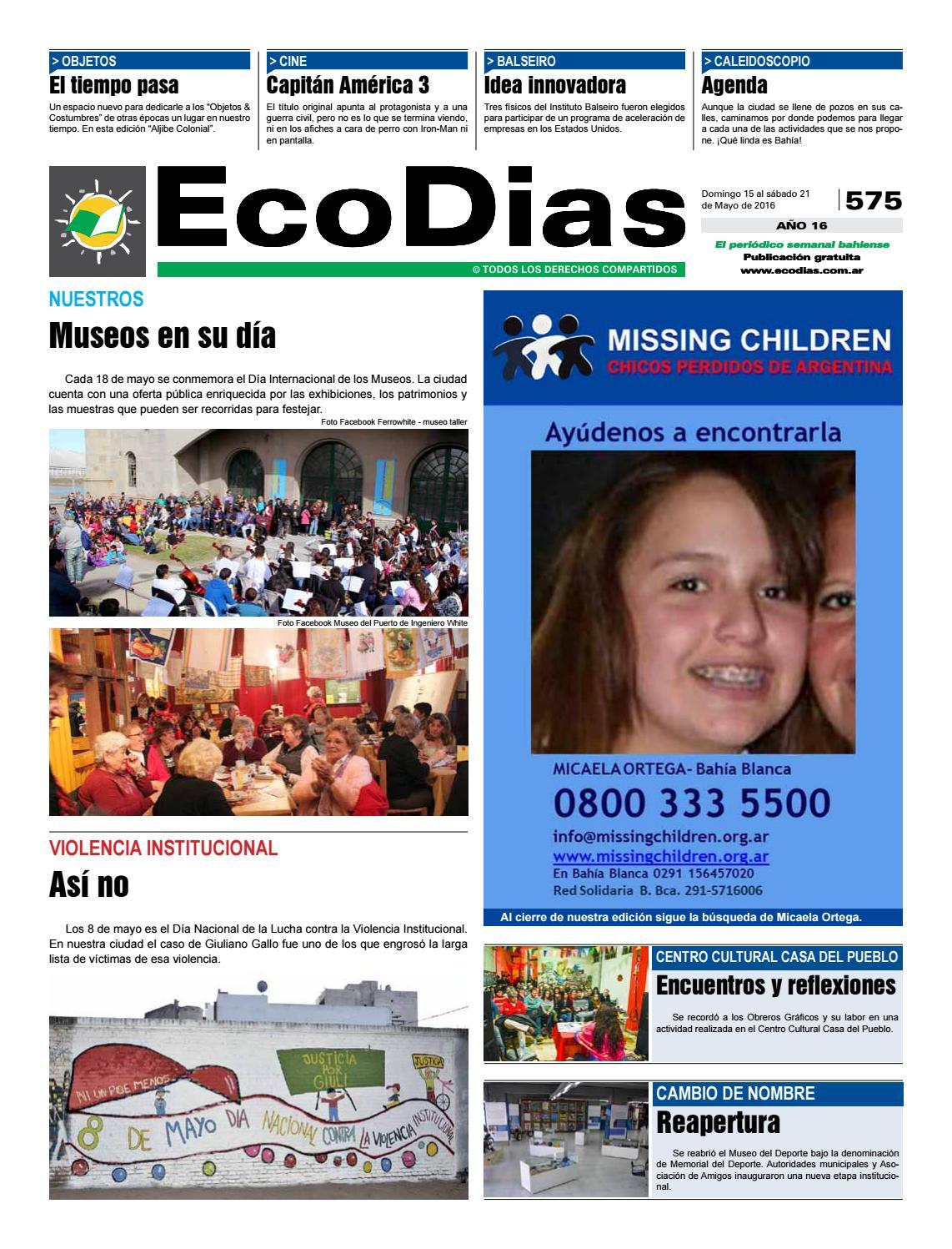Ecodias 575 by Cooperativa de Trabajo Ecomedios Ltda. - issuu