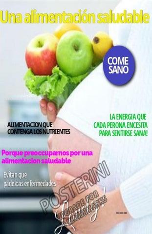 que es alimentacion saludable pdf