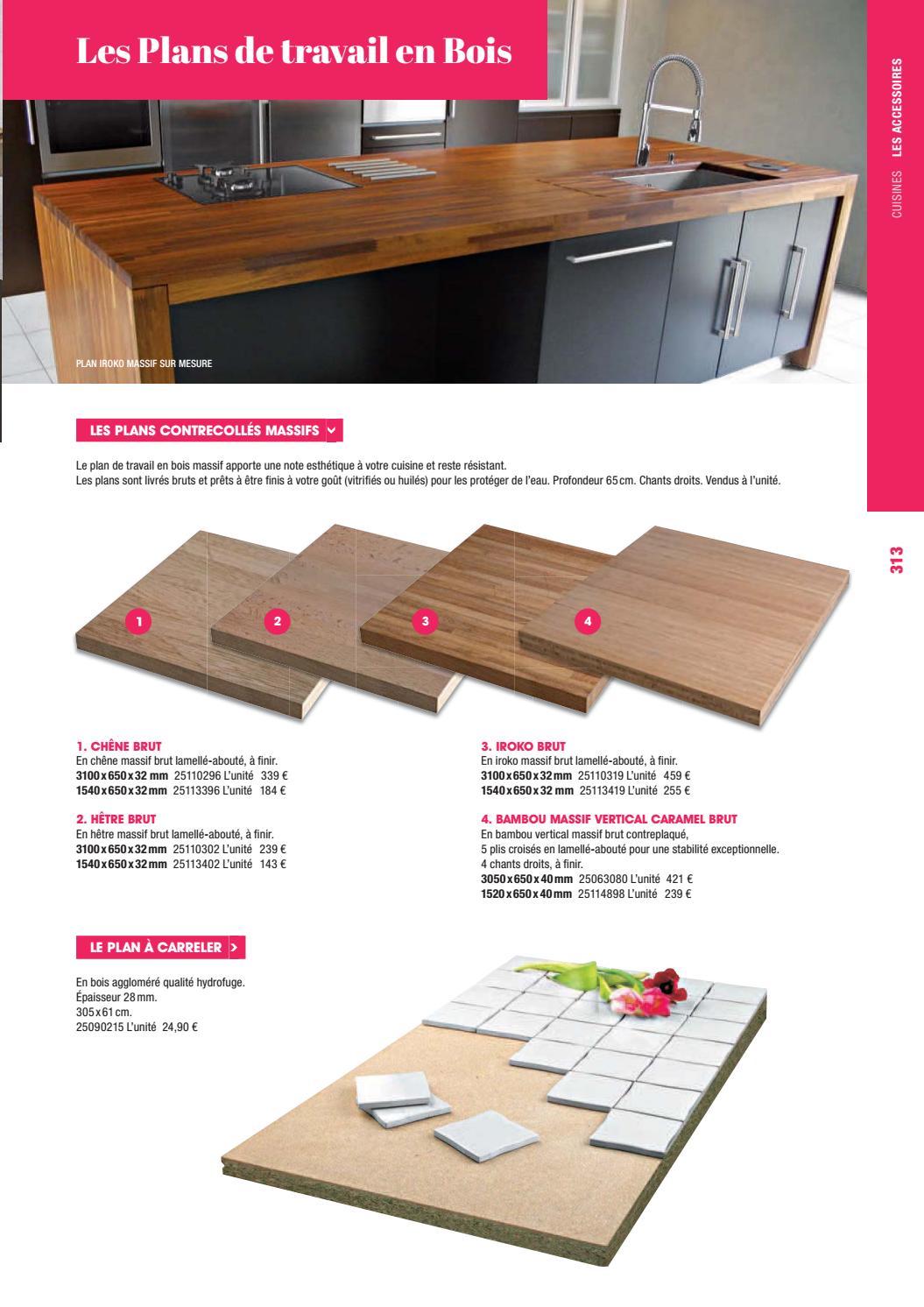 plan de travail cuisine profondeur 65 cm fabulous largeur plan travail cuisine brico depot plan. Black Bedroom Furniture Sets. Home Design Ideas