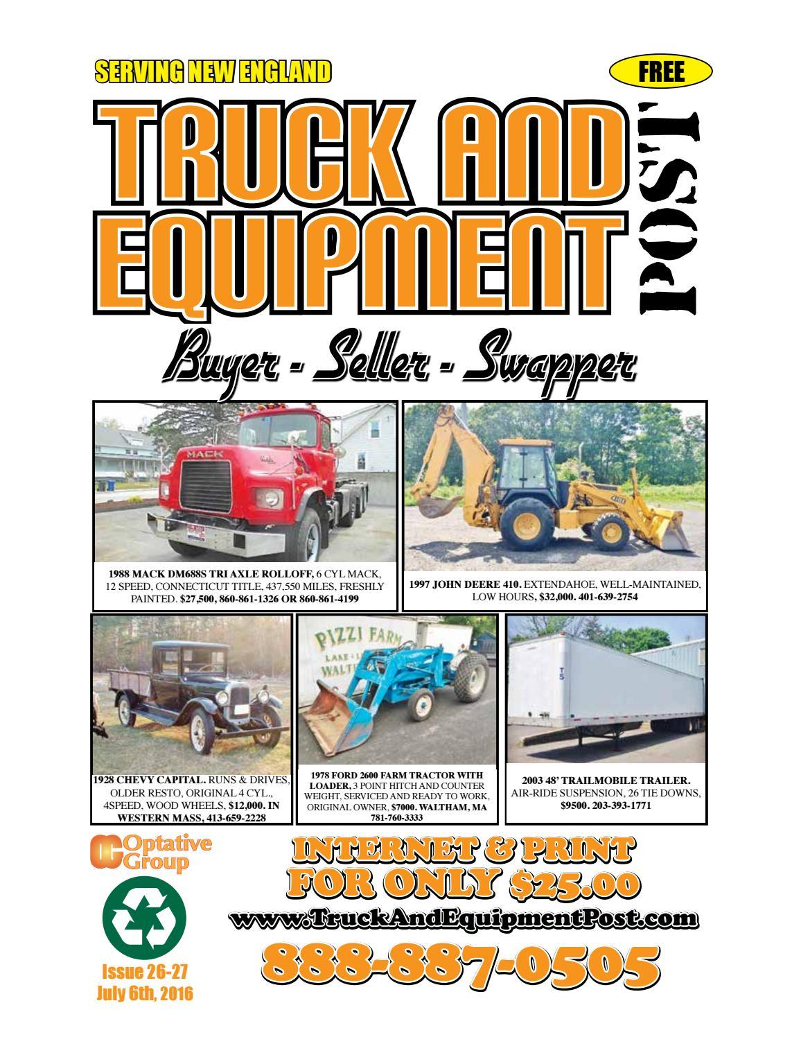 Truck Equipment Post 26 27 2016 By 1clickaway Issuu Pacar W900 Fuse Diagram 2001