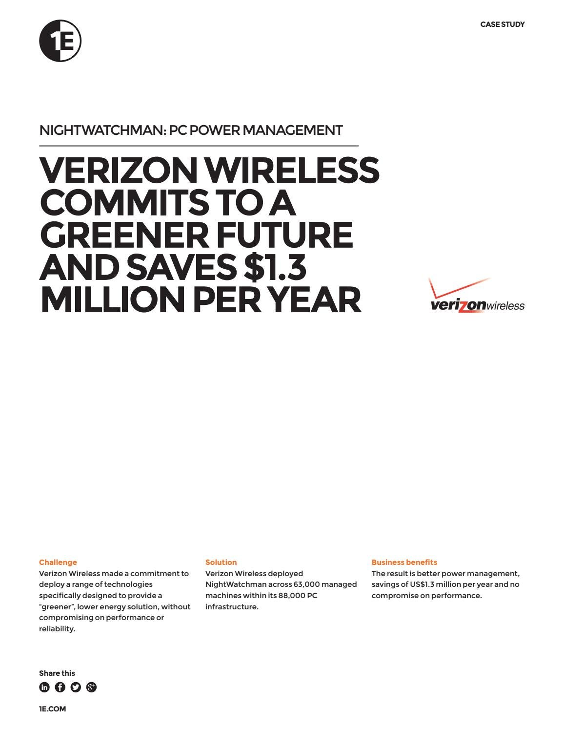 verizon wireless benefits