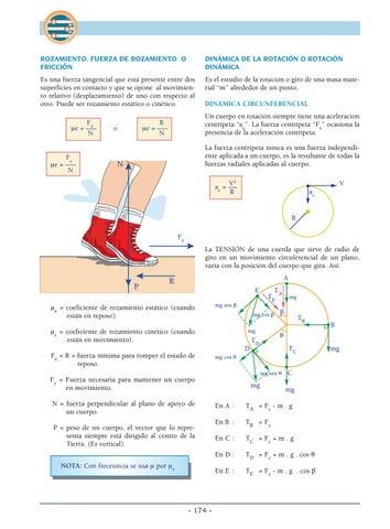 fuerza de rozamiento pdf