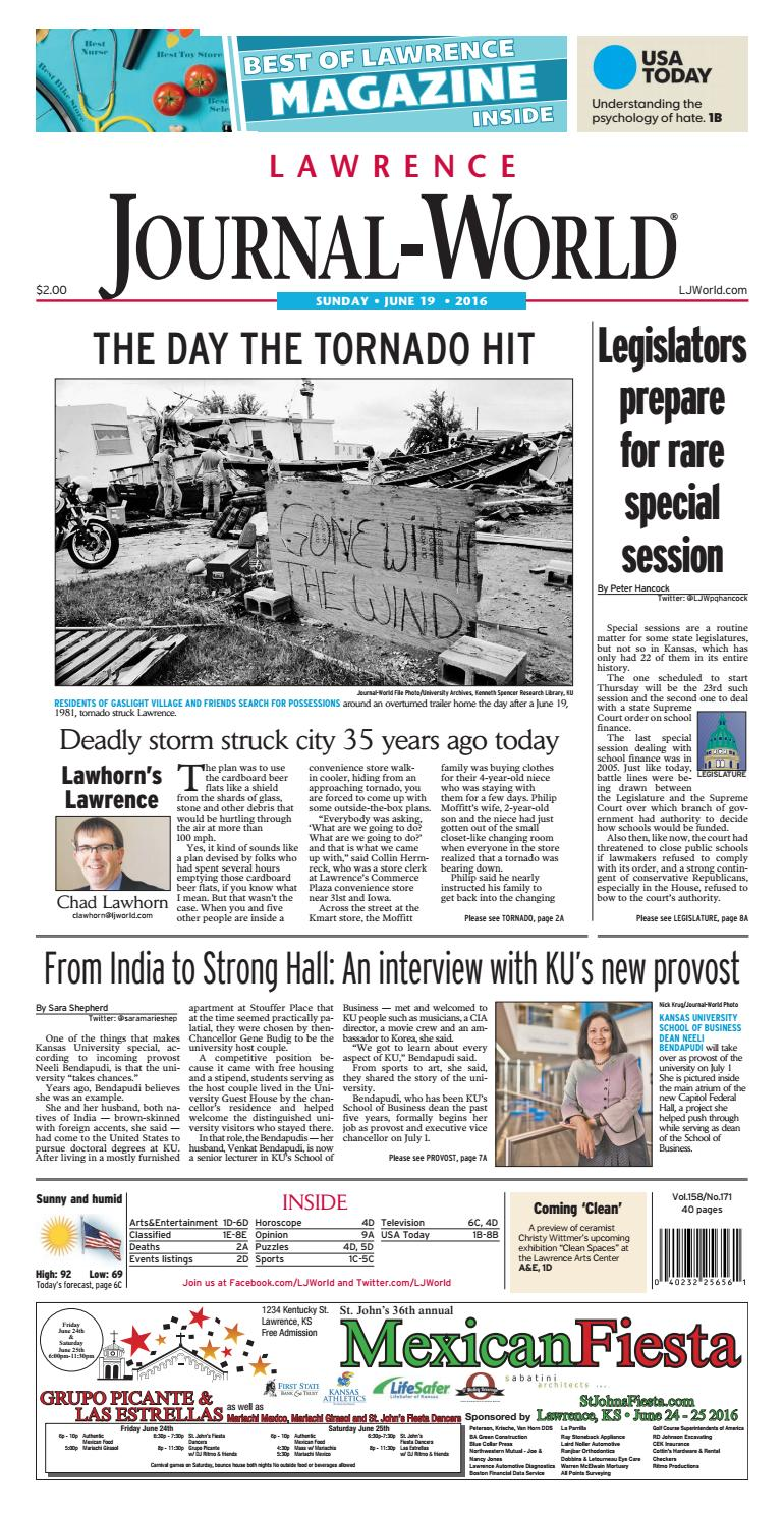 cdec0646c9 Lawrence Journal-World 06-19-2016 by Lawrence Journal-World - issuu