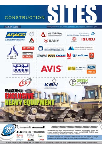 Construction Sites | June Issue no  107 by Qatar