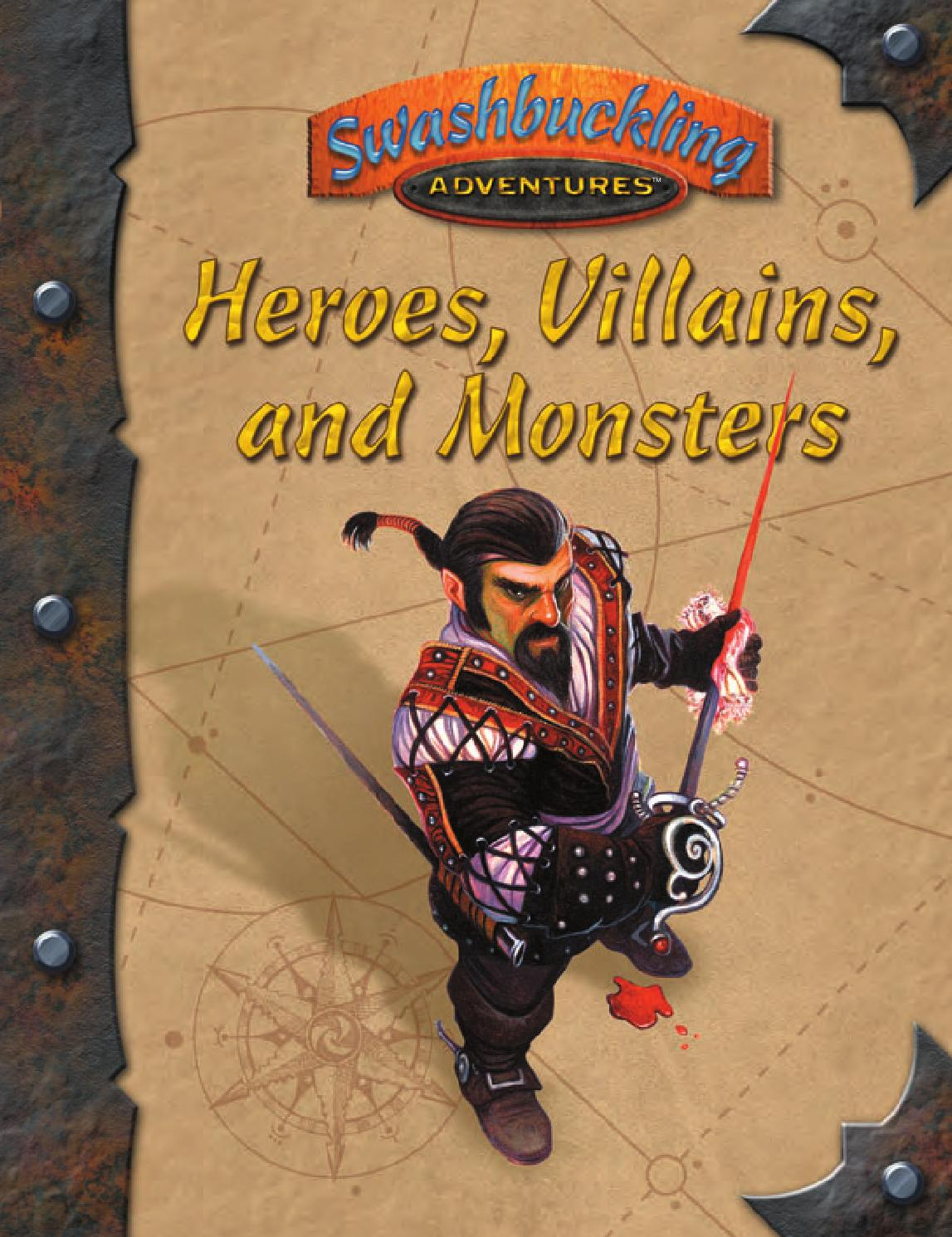 7th sea heroes villains and monsters