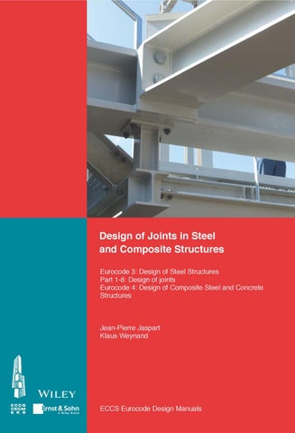Design of Joints in Steel and Composite Structures - ECCS (Hrsg )