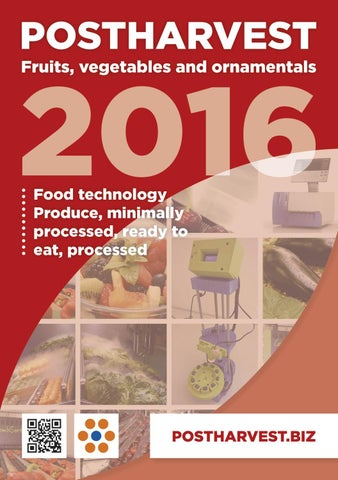 Postharvest Directory 2016 by Horticultura & Poscosecha - issuu