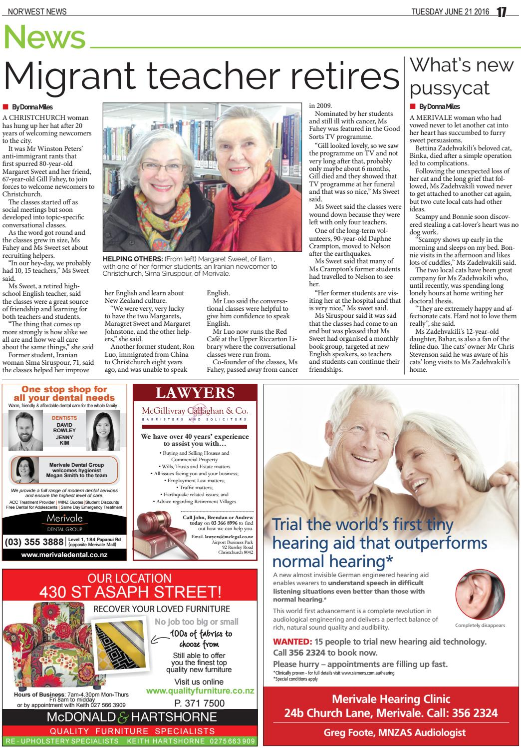 NorWest News 21-06-16 by Local Newspapers - issuu
