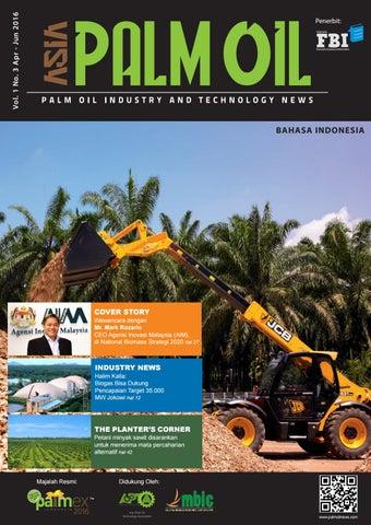Asia Palm Oil Magazine Indonesia April - Juni 2016 by