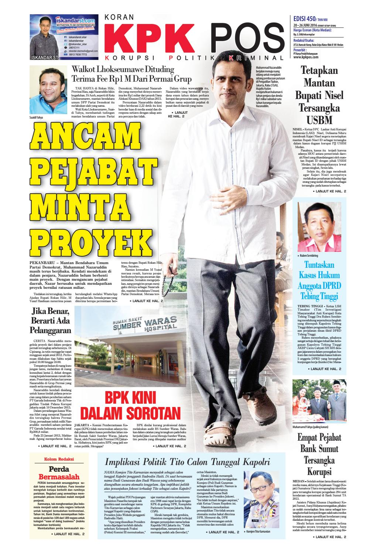 Epaper Kpkpos 410 Edisi Senin 20 Juni 2016 By Media Andalas Issuu Kopi Bos Ila Arifin Amr