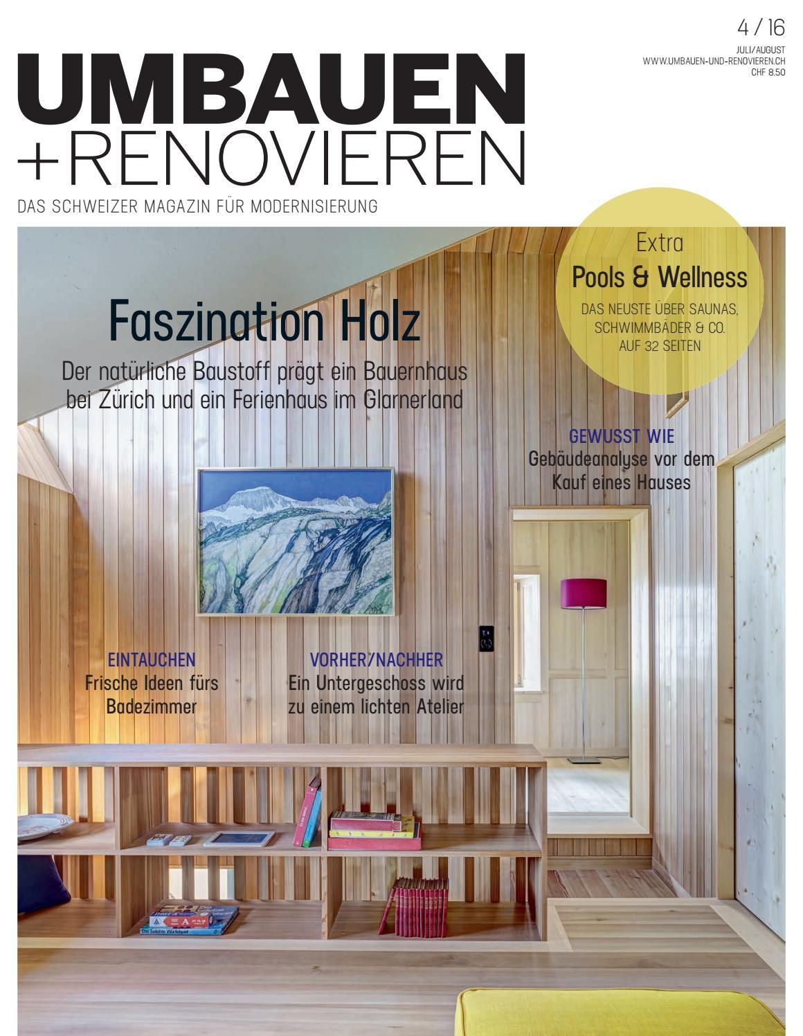 UMBAUEN + RENOVIEREN 04/2016 By Archithema Verlag   Issuu
