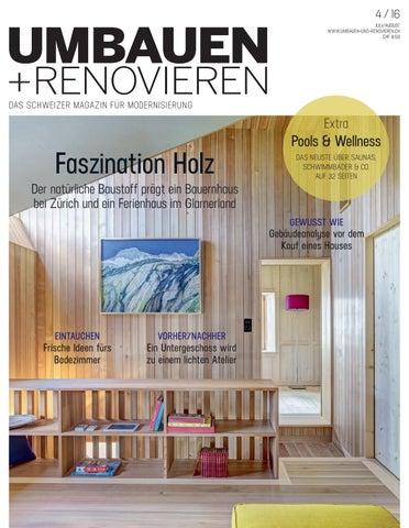 umbauen renovieren 04 2016 by archithema verlag issuu. Black Bedroom Furniture Sets. Home Design Ideas