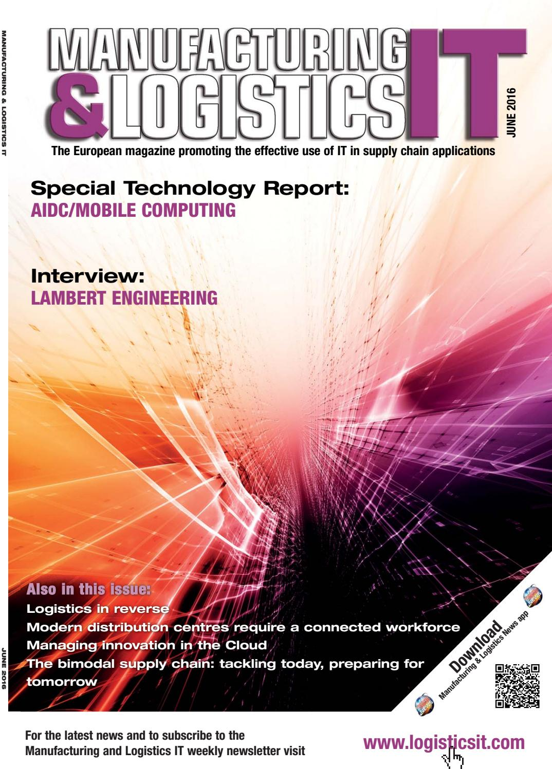 Manufacturing And Logistics It June 2016 By First Sight Graphics Short Open Circuit Finder Tester Car Repair Tracer Tool 642v Dc Issuu