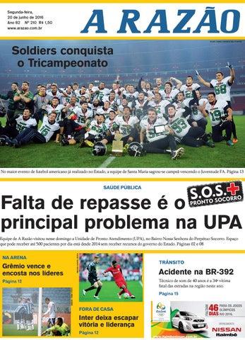 026cd0d176 Jornal A Razão 20 06 2016 by Jornal A Razão - issuu