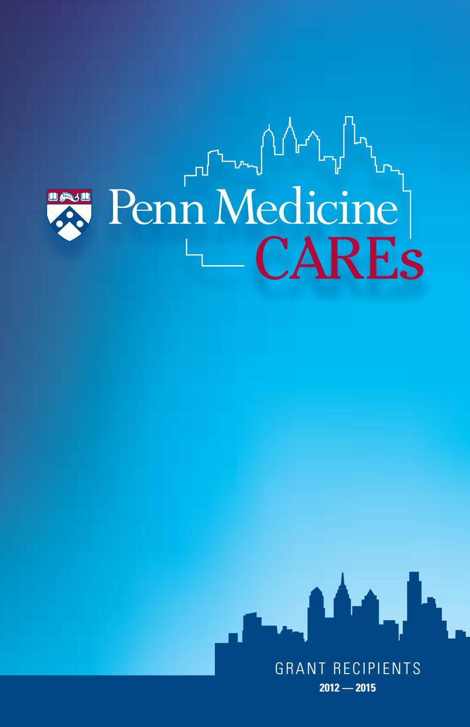 Penn Medicine CAREs | Grant Recipients 2012-2015 by Penn