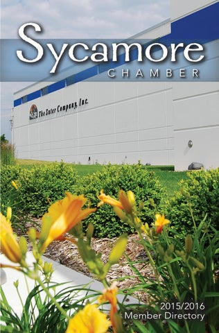Sycamorechambermember directory online by Shaw Media - issuu