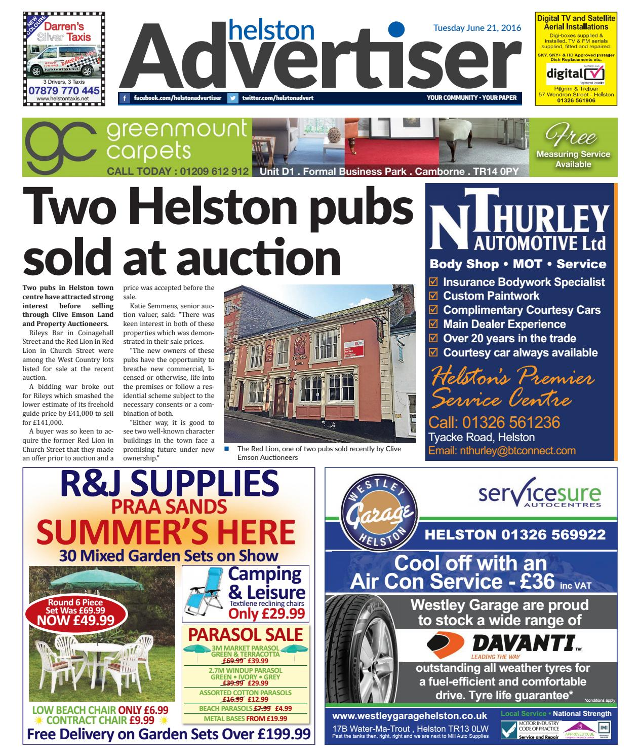 Helston Advertiser June 21st 2016 By Issuu Claire Ivory Nokha Wedges Women 39