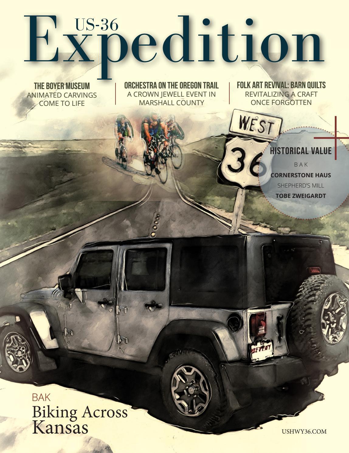 Kansas republic county agenda - Us Hwy 36 Guide Book