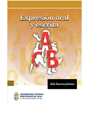 Expresin Oral Utpl By Estebanmacho Issuu