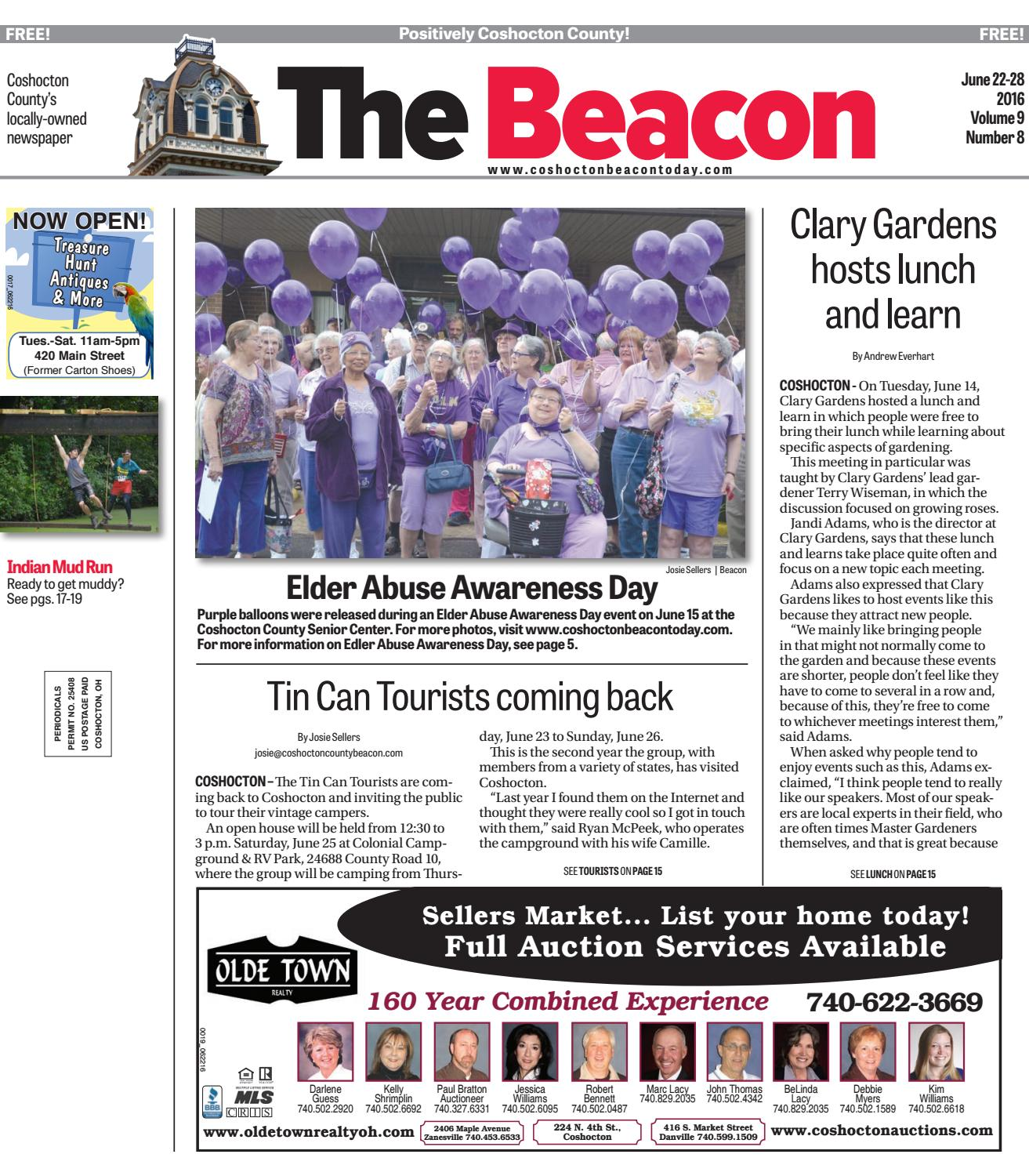 June 22 2016 Coshocton County Beacon By The