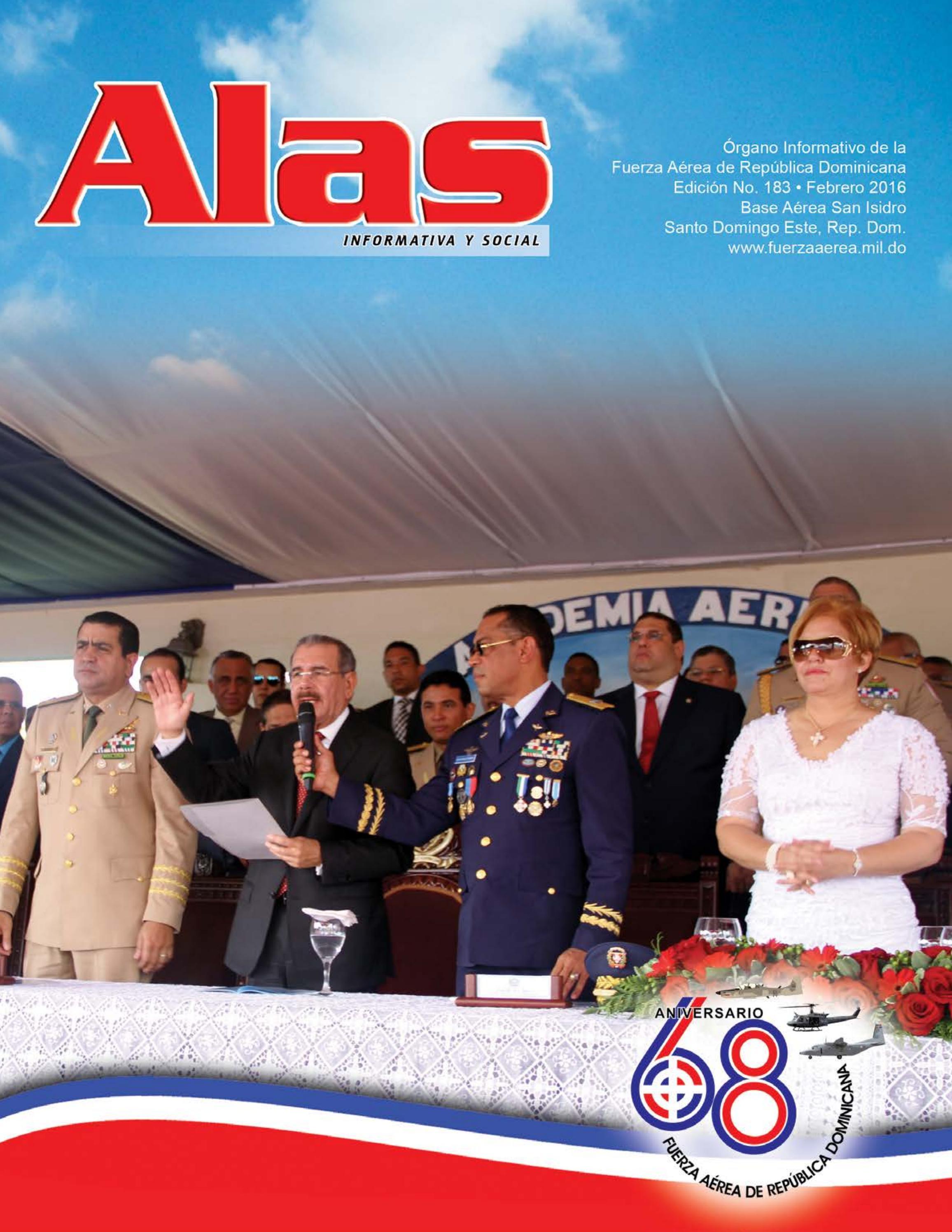 Revista Alas FARD - Edición 183 - Febrero 2016 by Halley González - issuu b2edb7304cc