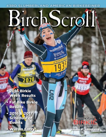 ce4021892 2016 Birkie Week Results • Fat Bike Birkie Results • 2016   2017 Schedule  of Events • Win an Entry!