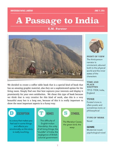 A Passage To India By Analup20