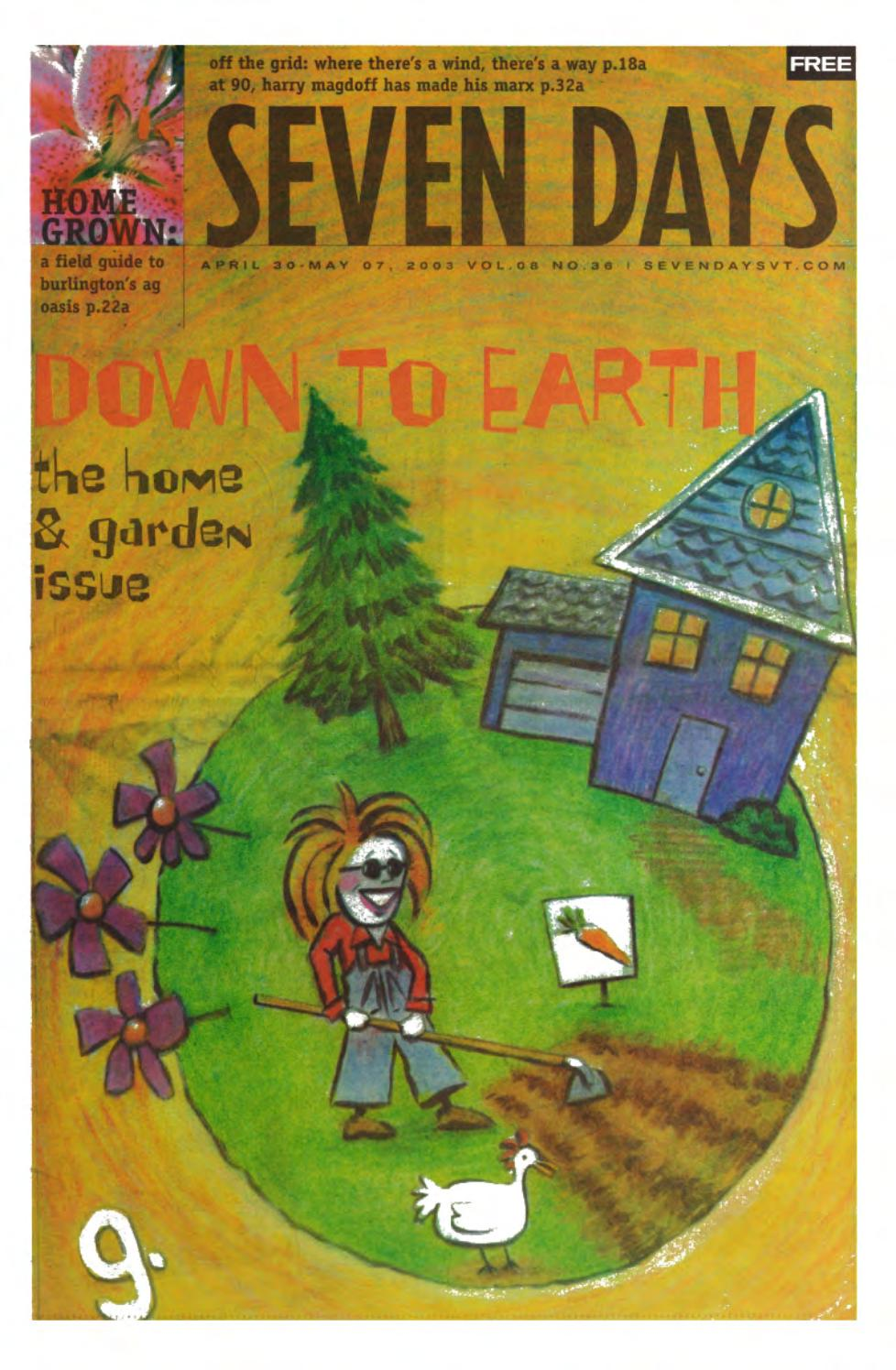 Seven Days April 30 2003 By Seven Days Issuu