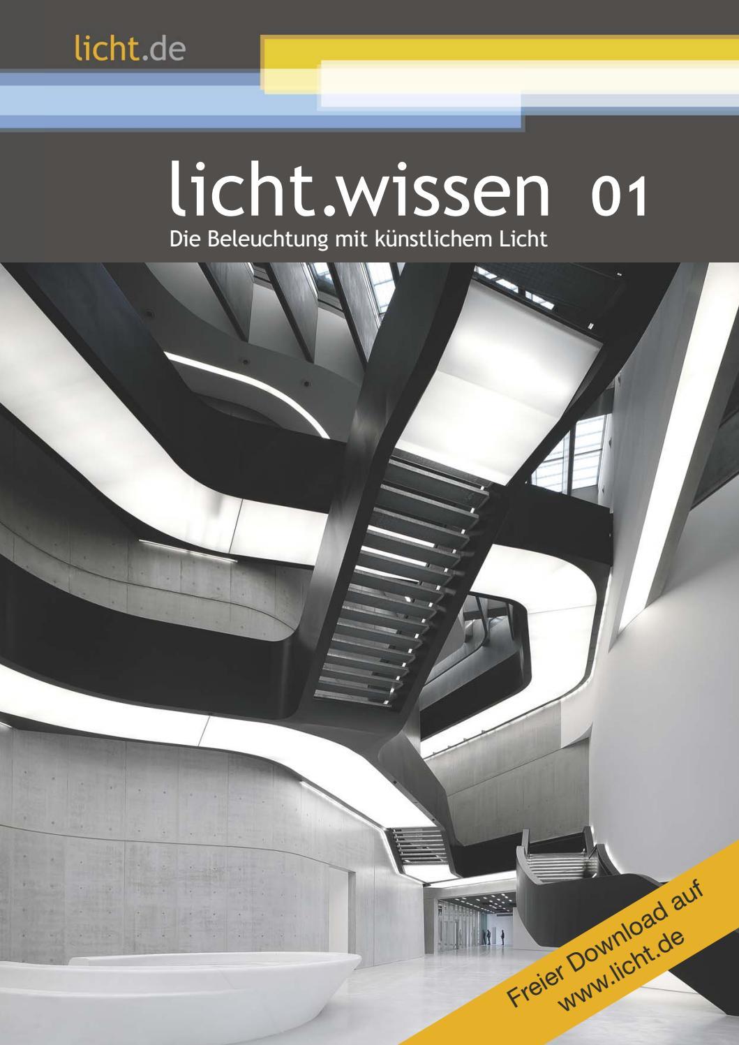 """licht.wissen 01 """"Die Beleuchtung mit künstlichem Licht"""" by licht.de ..."""