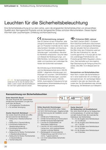 Licht Wissen 10 Notbeleuchtung Sicherheitsbeleuchtung By Licht De