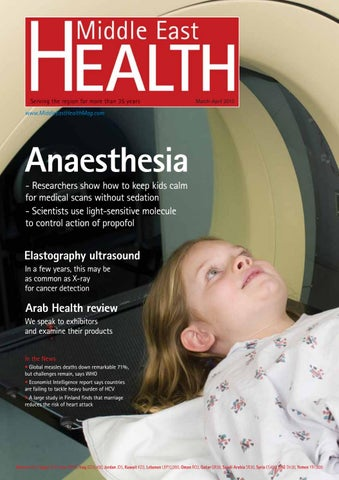 Middle East Health Magazine - Mar/Apr 2013 by Middle East