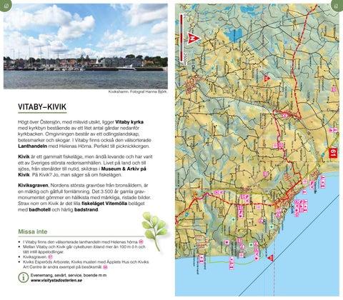 Karta Kivik Sverige.Sydostleden Information Karta By Business Region Skane Issuu