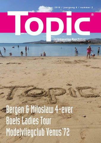 4b9ad4642d7628 Topic Maasduinen zomer 2016 by RvB Media - issuu