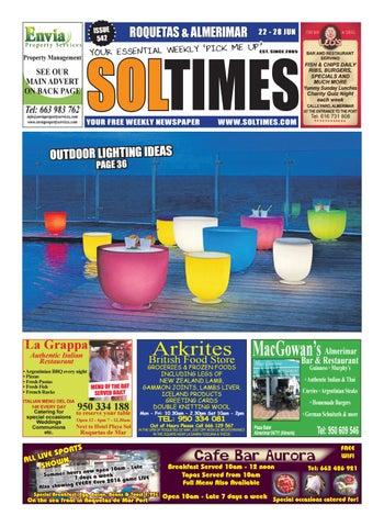 e8ec7ac7bcc8 Roquetas 542 by Sol Times - issuu