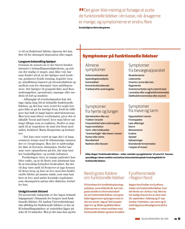 forskningsklinikken for funktionelle lidelser