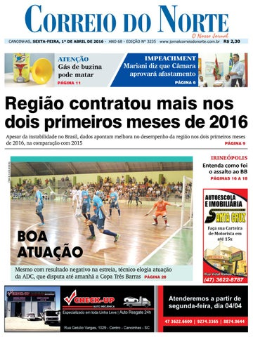 9ac91f3b95 Edição 3235 by Jornal Correio do Norte - issuu