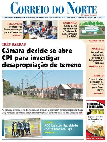 75d1b58f78 Edição 3236 by Jornal Correio do Norte - issuu