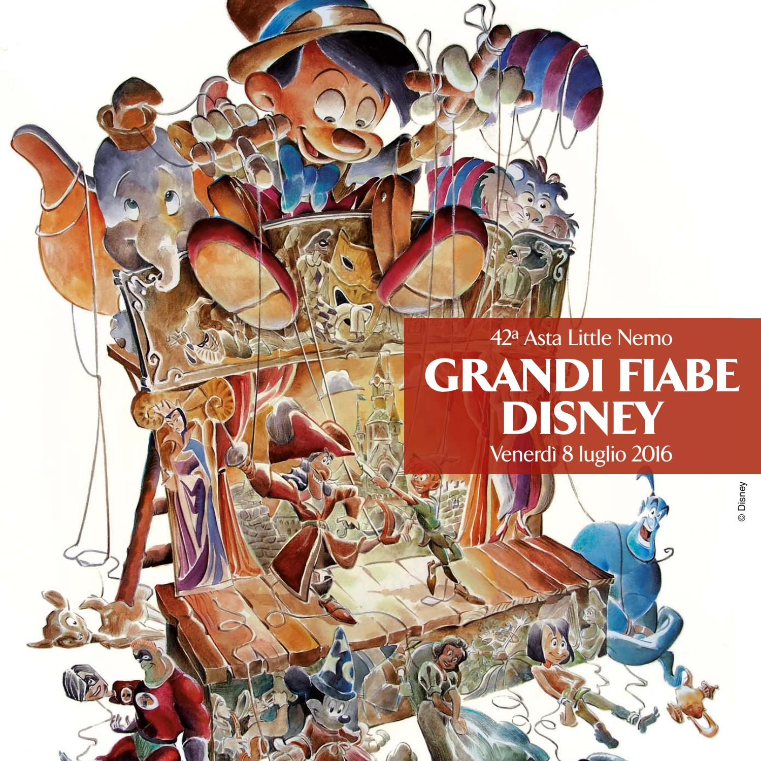 42nd Auction The Great Disney Fables By Little Nemo Edizioni Issuu