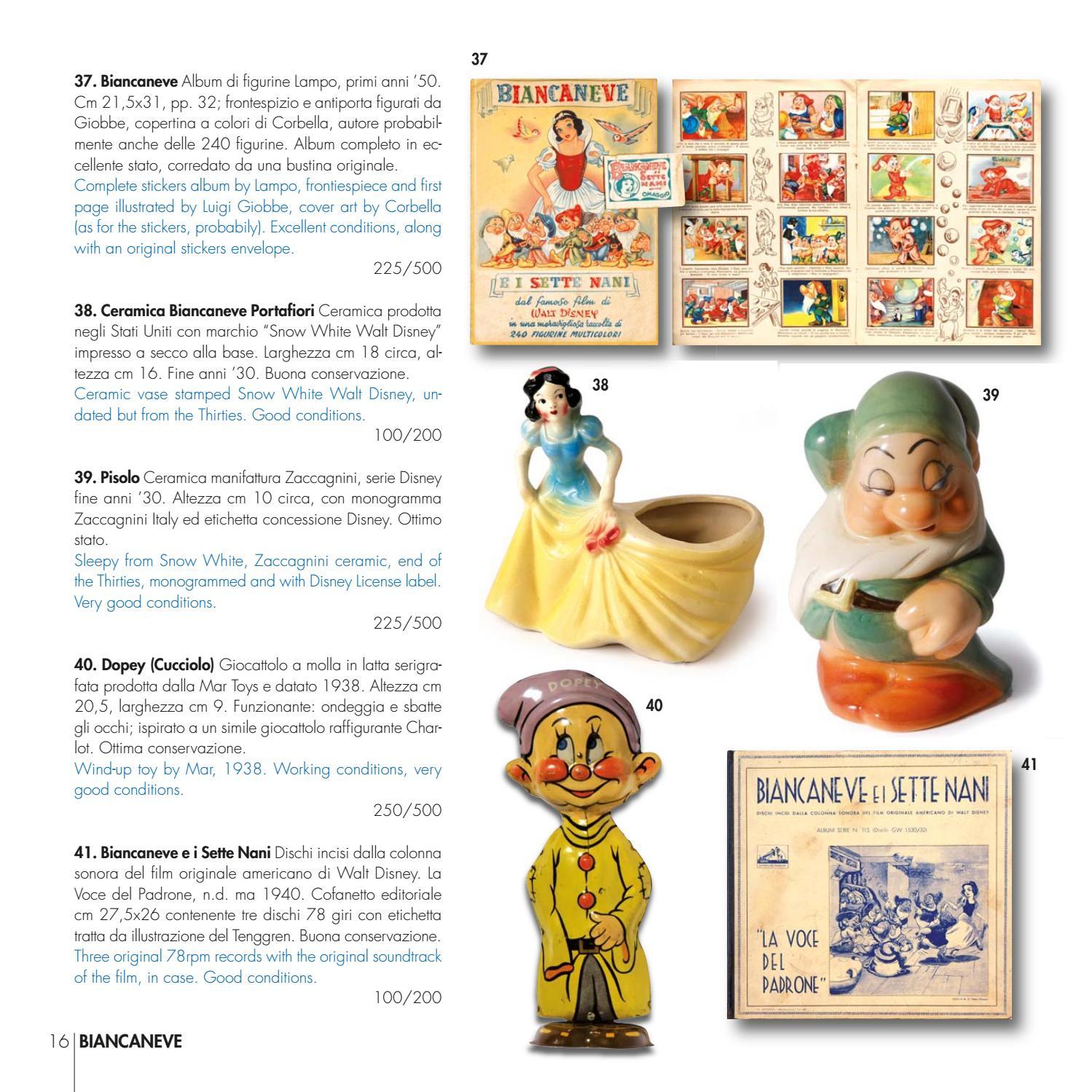 figurina WALT DISNEY STORY ED.MODERNA LAMPO numero 185