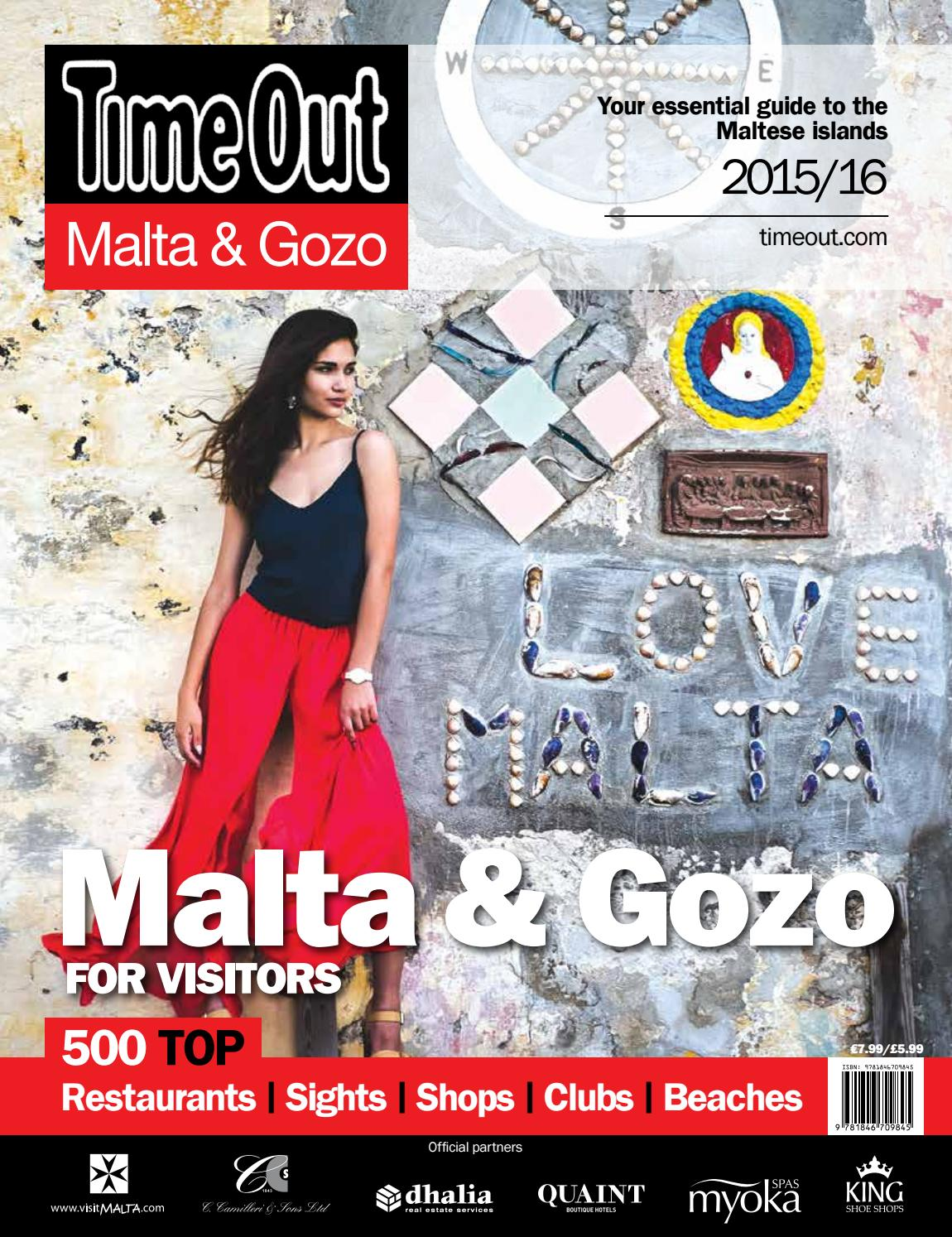 Time Out Malta Gozo By Content House Group Issuu Tas Backpack Aldo Vilena Original