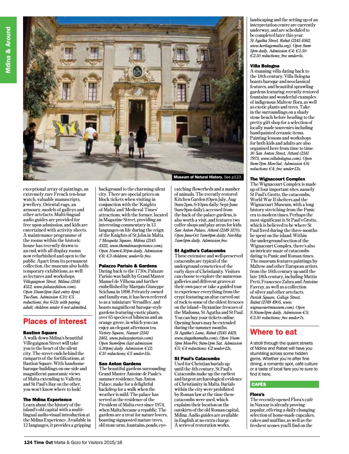 Time Out Malta & Gozo by Content House Group - issuu