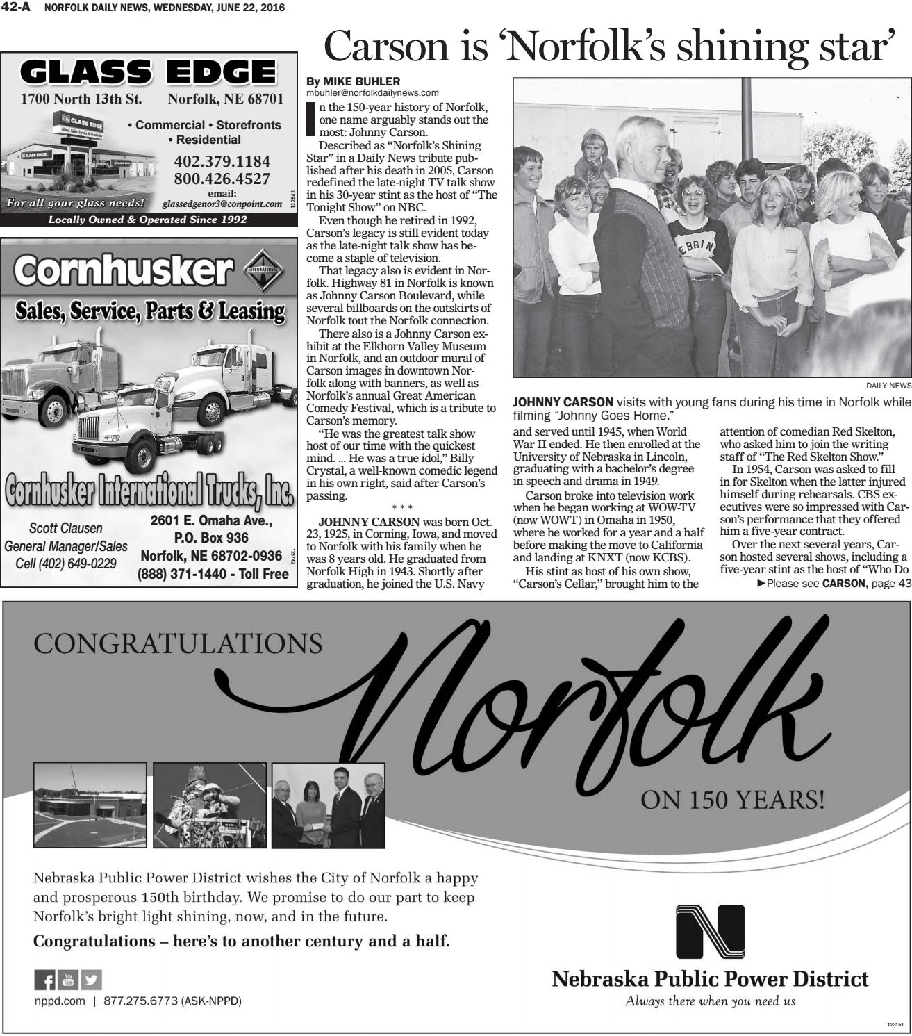 Norfolk 150th Birthday Celebration By Daily News