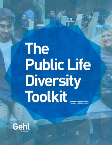 Public Life Diversity Toolkit - V2 by Gehl - Making Cities for