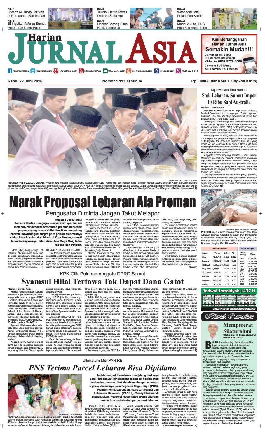 Harian Jurnal Asia Edisi Rabu 9e7c7cb595