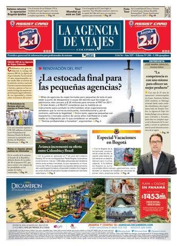 La Agencia De Viajes Colombia N 217 By Ladevi Media Solutions Issuu